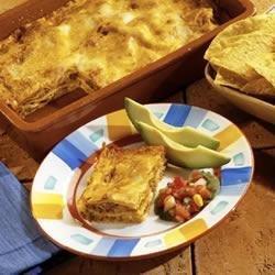 Southwest Sausage Lasagna