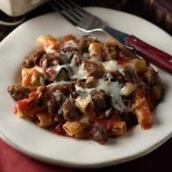Baked Ziti with Johnsonville Italian Sausage