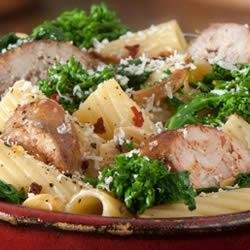 Rigatoni with Italian Sausage and Broccoli Rabe recipe