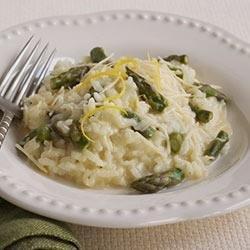 Springtime Asparagus Risotto recipe