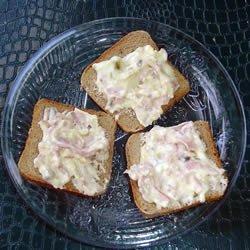 Anne's Hot Ham and Swiss Dip