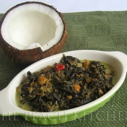 Laing - Taro Leaves in Coconut Milk
