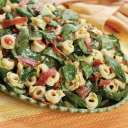 Spinach Cheese Tortellini Salad