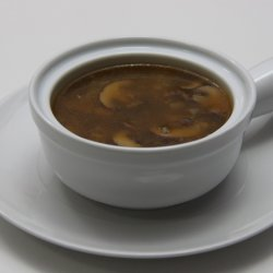Mushroom Rice Soup
