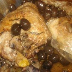 Italian Style White Chicken Caccitore