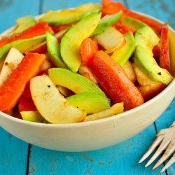 Tropical Apple Salad