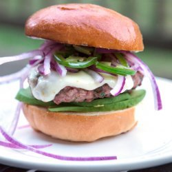 Turkey Burgers With Red Onion Relish