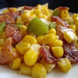 Fried Skillet Corn