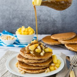 Spiced Vegan Pancakes