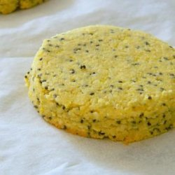 Gluten Free Lemon Poppy-Seed Cookies