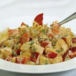 Lobster and Potato Salad