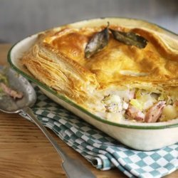 Ham and Potato Pie