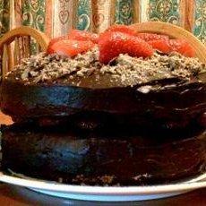 Two Layered Birthday Cake
