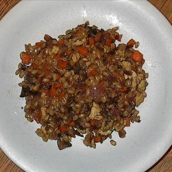 Yummy Whole Grain Wheat Pilaf  (Wheat Berry)