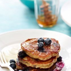 Banana/Blueberry Pancakes