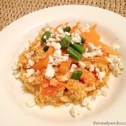 Quinoa Buffalo Chicken Salad