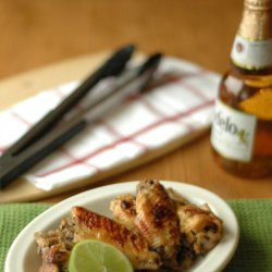 Crockpot Honeyed Chicken Wings