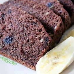 Vegan Banana and Blueberry Cake