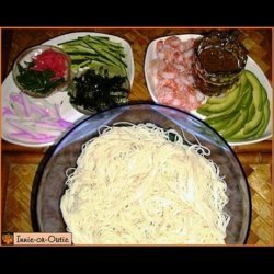 Somen (Cold Noodles) for Two