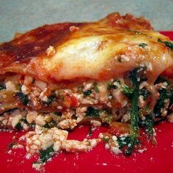 Mori-Nu Fresh Spinach Lasagna recipe