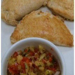 Grilled Pineapple Ginger Salsa