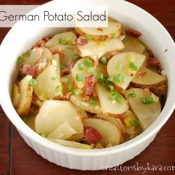 Hot German Potato Salad for 2