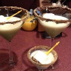 Chocolate S'mores Martini Recipe