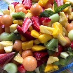 Tropical Dressing for Fruit Salad