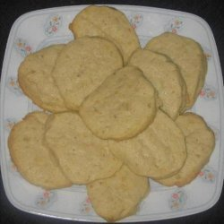 Cornmeal Citrus Cookies