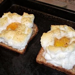 Eggs on a Cloud for One or Two (Toaster Oven)