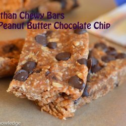Chewy Peanut Butter & Chocolate Bars
