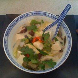 Coconut Soup With Tofu recipe