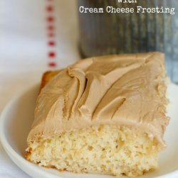 Root Beer Cake With Cream Cheese Frosting