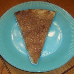 Cream Cheese Dessert Pizza