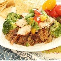 Light Chicken Enchiladas