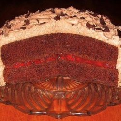Black Forest Cake With Chocolate-Almond Mousse Frosting