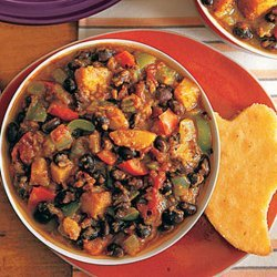Black Bean and Squash Chili