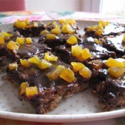 Iced Carob Cookies