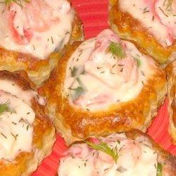 Creamy Alfredo Seafood a La King recipe