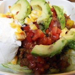 Vegetarian Taco Salad recipe