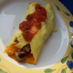 Low - Carb - Breakfast Burrito