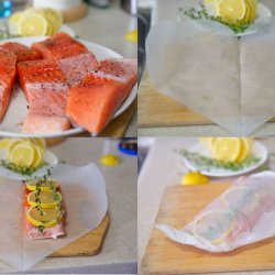 Paper Baked Salmon
