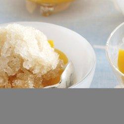 Peach Ice Tea Granita