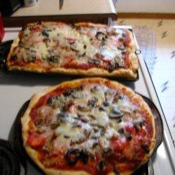 Taste of Home Homemade Pizza Crust