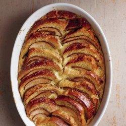 Pear Bread Pudding recipe