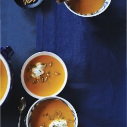 Pumpkin Almond Soup
