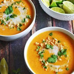 Soup Thai Curry and Coconut Butternut Squash Soup