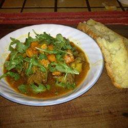 Crock Pot Gluten Free Moroccan Goat Stew