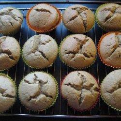 Fresh Ginger Muffins (Gluten and Dairy Free)