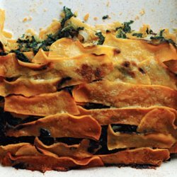 Butternut Squash Gratin With Creamed Spinach